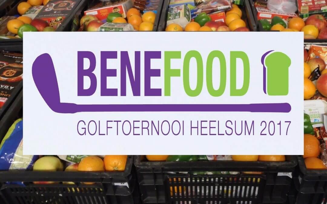 Benefood : Feestelijk golfen voor de Voedselbank