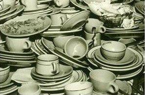 Afwas in het clubhuis graag zelf opruimen!