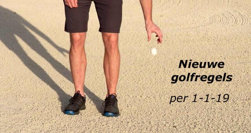 Nieuwe golfregels in 2019