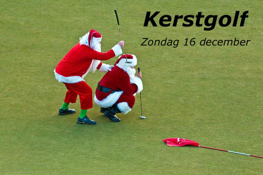 Zondag 16 december: Kerstgolf!